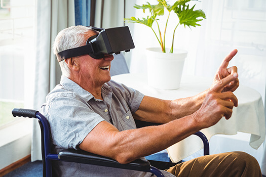 Google's Dementia Walk in Virtual Reality in Victoria, BC